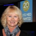 Lena Micko, ordförande Svenskt Flyg