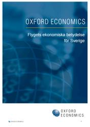 Flygets ekonomiska betydelse för Sverige