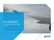 Flygskatt – en samhällsekonomisk analys
